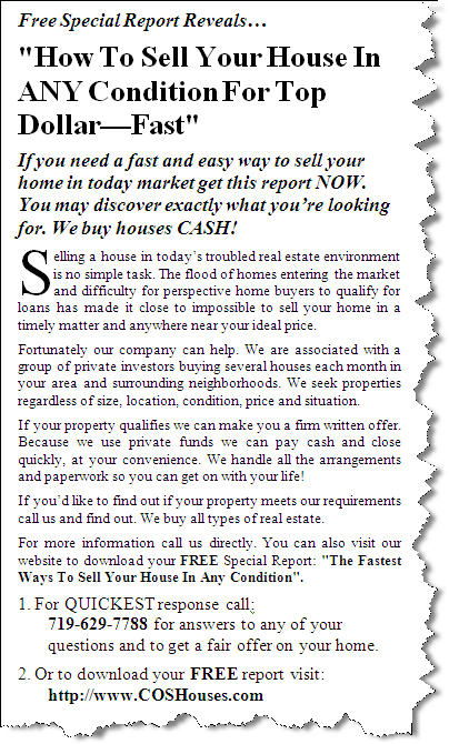 How To Sell Your House In Any Condition For Top Dollar