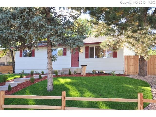 beautifully renovated colorado springs home for sale