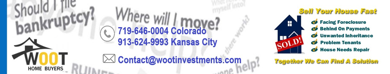 Woot Home Buyers – Sell Your Home -FAST!  Don't Fix It, Sell It!